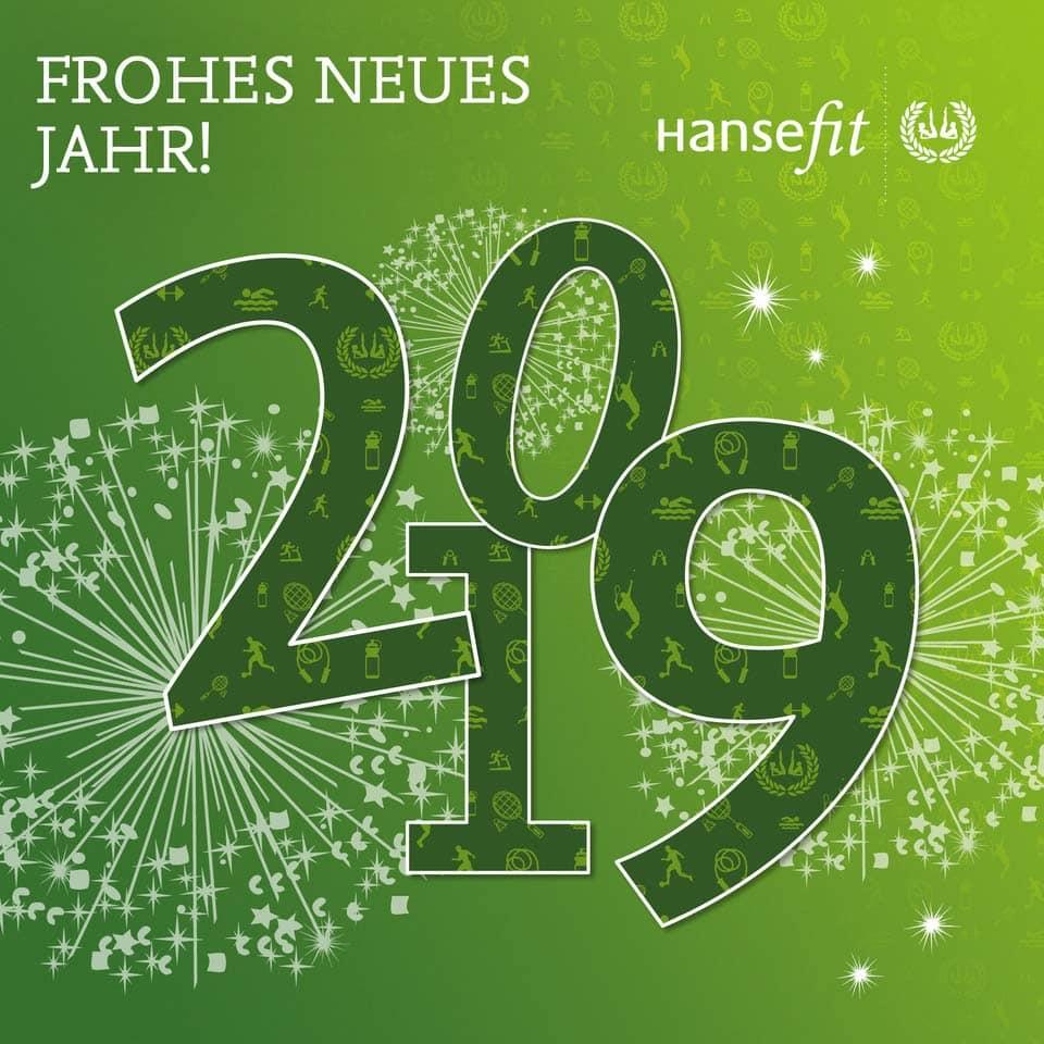 Hansefit wünscht ein frohes neues Jahr