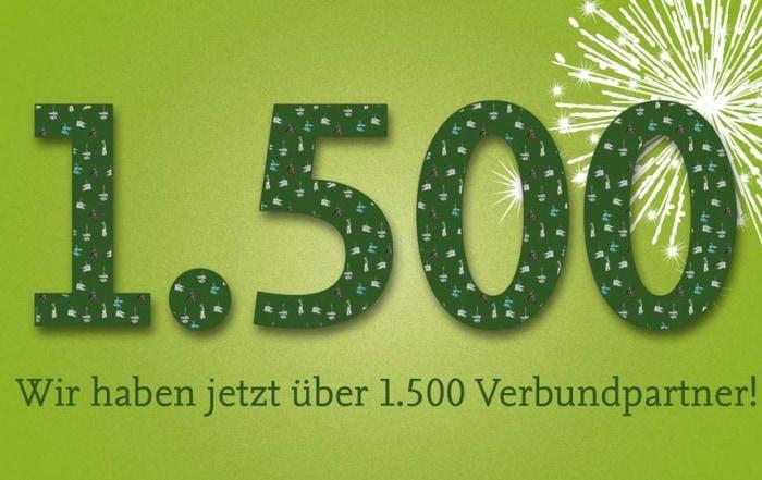 Hansefit hat nun über 1500 Verbundpartner!