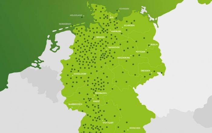 Hansefit deutschlandweit