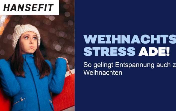 Teaserbild Weihnachtsstress Frau mit Taschen und Winterkleidung