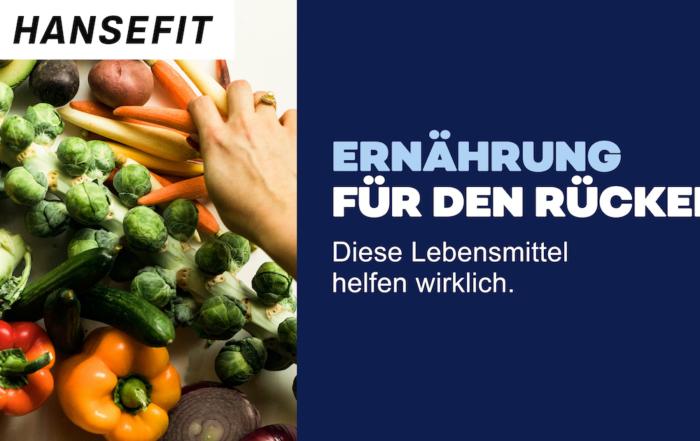 Teaserbild Ernährung Rückenschmerzen Gemüse